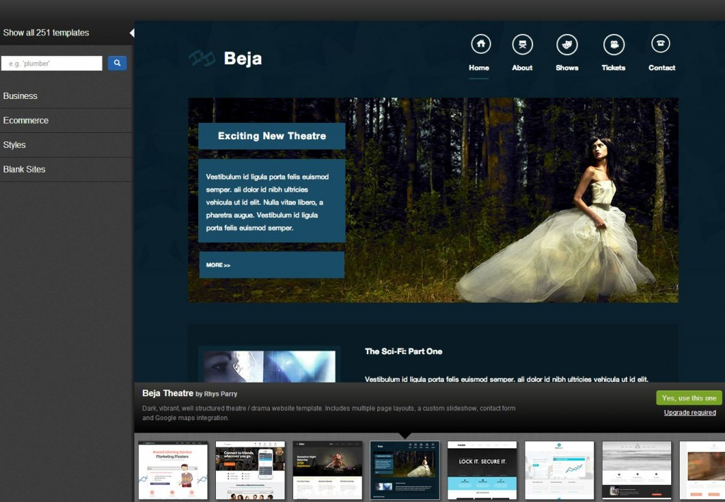 Great templates let you create and customize amazing websites to suit your needs - Basekit