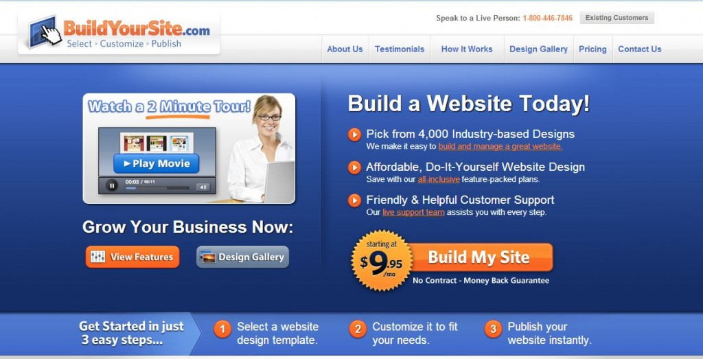 Easy to build websites with great support - Build Your Site