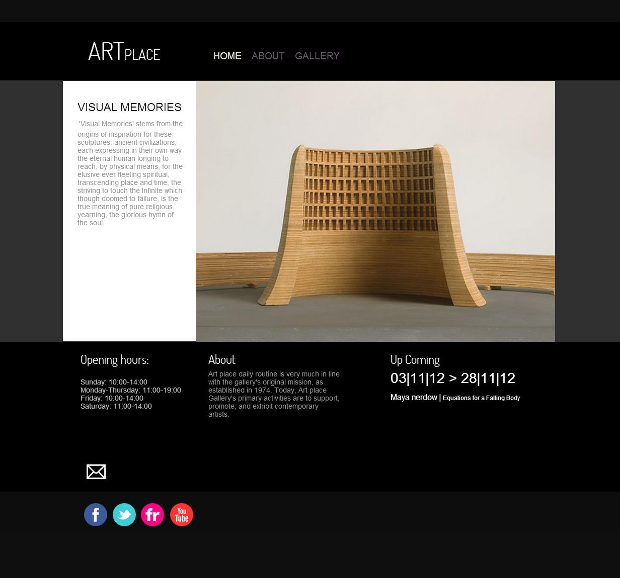 Art Gallery - Art gallery website templates