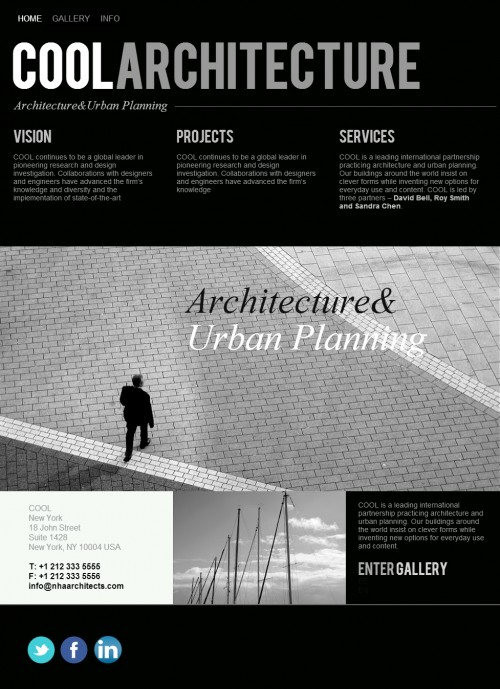 architect template