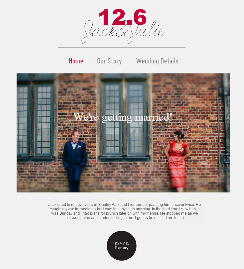 Wedding Websites Ideas: 12 Wedding Website Ideas You Should Know About