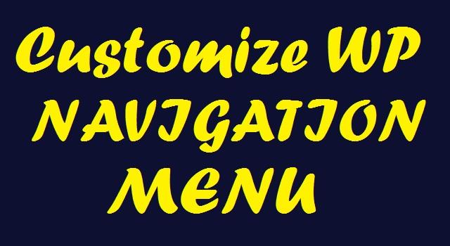 customize wp