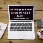 10 Things to Know Before Starting a Blog