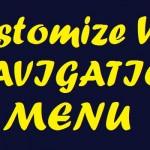 How to Customize WordPress Navigation Menu